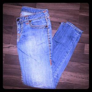 True religion skinny jeans Sz 31